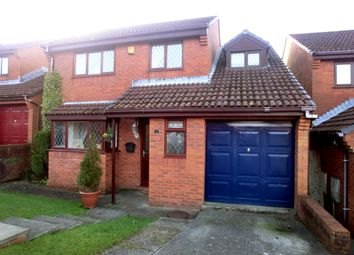 Thumbnail 4 bed detached house for sale in Murrayfield Close, Fforestfach, Swansea