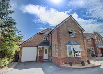 Thumbnail 4 bed detached house for sale in Hadleigh Close, Great Sankey, Warrington