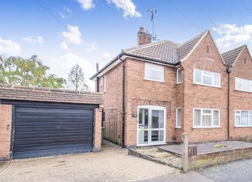 Thumbnail 3 bed semi-detached house for sale in Wellesbourne Drive, Glenfield, Leicester, Leicestershire