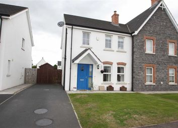 Thumbnail 3 bed semi-detached house for sale in Forge Avenue, Ballygowan, Down