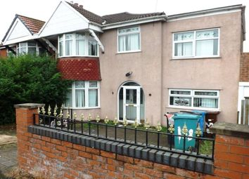 Thumbnail 4 bed semi-detached house for sale in Middleton Road, Crumpsall, Manchester