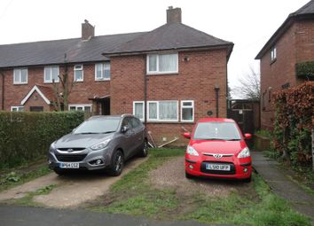 Thumbnail 3 bed end terrace house for sale in Gibbons Road, Four Oaks, Sutton Coldfield, West Midlands