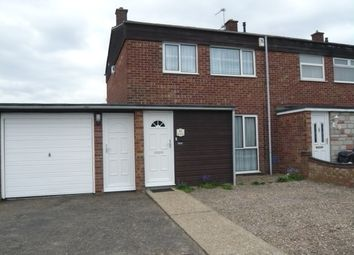 Thumbnail 3 bed end terrace house for sale in Cere Road, Sprowston, Norwich