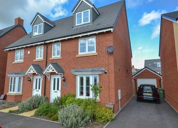 Thumbnail 4 bed semi-detached house for sale in Railway Walk, Cam, Dursley
