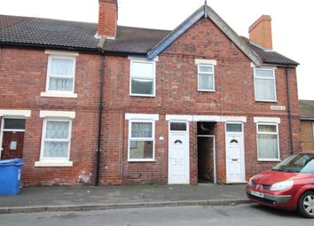 Thumbnail 3 bed terraced house for sale in Craven Street, Horninglow, Burton-On-Trent