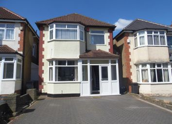 Thumbnail 3 bed detached house for sale in Myrtle Avenue, Kings Heath, Birmingham