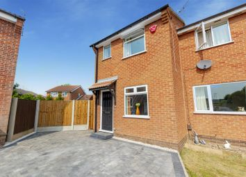Thumbnail 2 bed semi-detached house for sale in Bakewell Road, Long Eaton, Nottingham