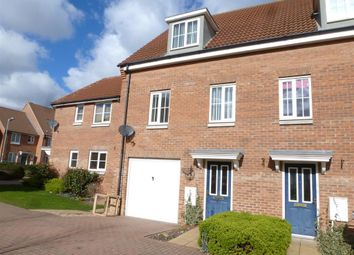 Thumbnail 3 bed town house to rent in Jentique Close, Dereham