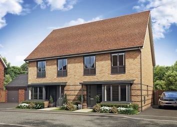 Thumbnail 3 bedroom semi-detached house for sale in Little Colliers Field, Great Oakley, Corby, Northamptonshire