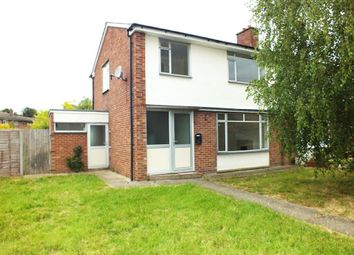 Thumbnail 3 bed semi-detached house to rent in Roman Way, Perry, Huntingdon