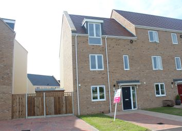 Thumbnail 4 bed end terrace house for sale in Nar Valley Park, 20 Minnow Avenue, King's Lynn