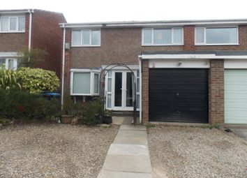 Thumbnail 3 bed semi-detached house to rent in Orleans Grove, Marton-In-Cleveland, Middlesbrough