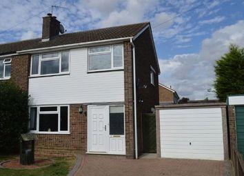 Thumbnail 3 bedroom semi-detached house for sale in Compton Way, Earls Barton, Northampton