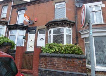 Thumbnail 2 bedroom terraced house to rent in Eaton Street, Hanley, Stoke-On-Trent
