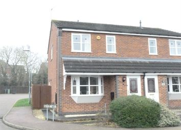 Thumbnail 3 bedroom semi-detached house for sale in Geveze Way, Broughton Astley, Leicester