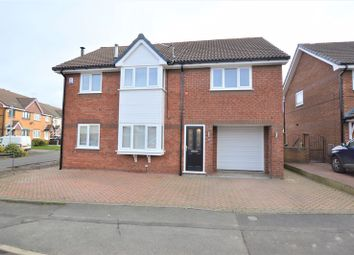 Thumbnail 5 bed detached house for sale in Peregrine Crescent, Droylsden, Manchester