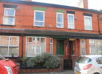 Thumbnail 3 bed terraced house for sale in Garfield Avenue, Levenshulme, Manchester
