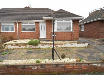 Thumbnail 2 bed semi-detached bungalow for sale in Merrills Avenue, Crewe, Cheshire