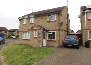 Thumbnail 2 bed property to rent in Caldbeck Close, Gunthorpe, Peterborough
