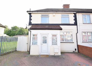 Thumbnail 3 bed end terrace house for sale in Abbey Avenue, Wembley, Middlesex
