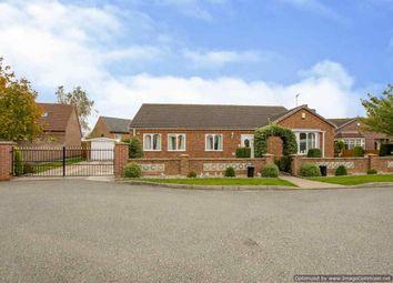 Thumbnail 3 bed detached bungalow for sale in Meadow Rise, Blyton, Gainsborough