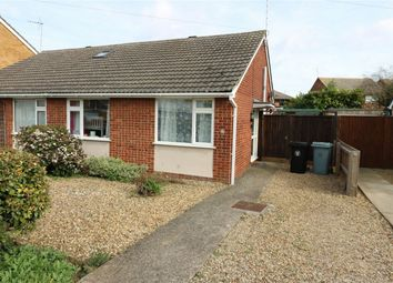 Thumbnail 2 bed semi-detached bungalow for sale in Rycroft Avenue, Deeping St James, Market Deeping, Lincolnshire
