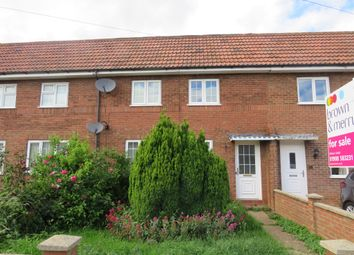 Thumbnail 3 bed terraced house for sale in Highfield Crescent, Brogborough, Bedford