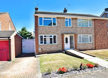 Thumbnail 3 bed semi-detached house for sale in Westerham Road, Sittingbourne, Kent