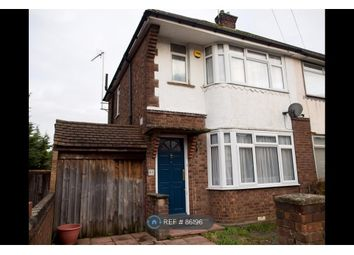 Thumbnail 2 bed semi-detached house to rent in Wickstead Avenue, Luton