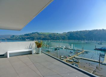 Thumbnail 3 bedroom flat for sale in The Penthouse, 6 Sails, College Way, Dartmouth, Devon
