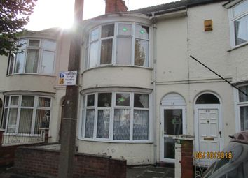 Thumbnail 4 bed terraced house for sale in Windsor Avenue, Leicester, Leicestershire