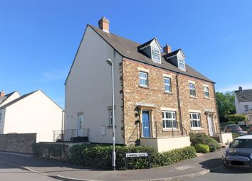 Thumbnail 4 bed semi-detached house for sale in Campion Close, Launceston