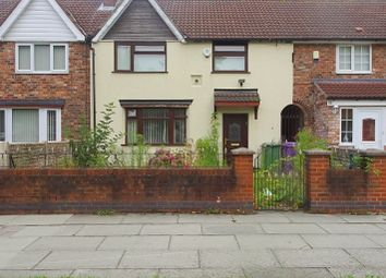 Thumbnail 3 bed terraced house for sale in Stanley Park Avenue North, Walton, Liverpool
