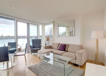 Thumbnail 3 bed flat to rent in Waterside Apartments, Goodchild Road, London