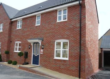Thumbnail 3 bed semi-detached house to rent in Maximus Road, North Hykeham, Lincoln