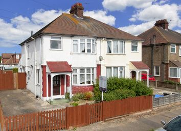 Thumbnail 3 bed semi-detached house for sale in Bognor Drive, Herne Bay, Kent
