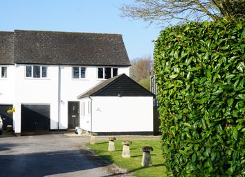 Thumbnail 3 bed semi-detached house for sale in Thruxton, Andover, Hampshire