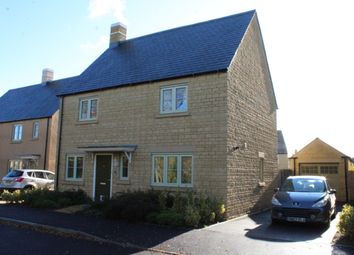 Thumbnail 4 bed detached house for sale in Morecombe Way, Fairford