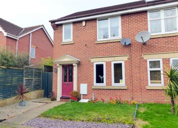 Thumbnail 3 bed semi-detached house to rent in Grizedale Close, Forest Town, Mansfield