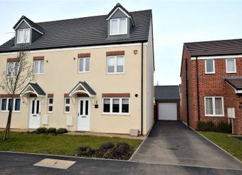 Thumbnail 4 bed semi-detached house for sale in Northfield Way, Kingsthorpe