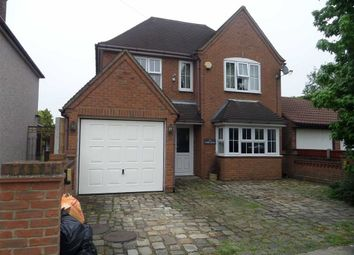 Thumbnail 4 bedroom detached house for sale in Farm Road, Rainham, Essex