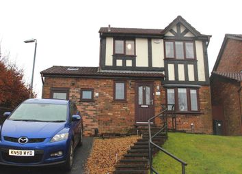 Thumbnail 4 bedroom detached house for sale in Christ Church Lane, Harwood, Bolton