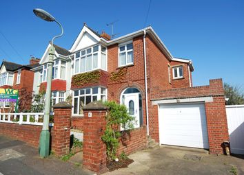 Thumbnail 3 bedroom semi-detached house to rent in Fulford Road, Exeter