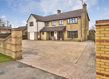 Thumbnail 5 bed detached house for sale in Ramsey Road, Ramsey Forty Foot, Ramsey, Huntingdon