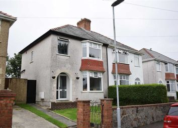 Thumbnail 3 bedroom semi-detached house for sale in Lon Coed Bran, Cockett, Swansea