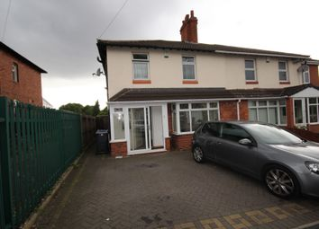 Thumbnail 3 bed semi-detached house to rent in Hall Road, Smethwick, West Midlands