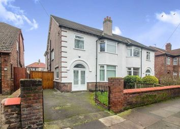 Thumbnail 5 bedroom semi-detached house for sale in De Villiers Avenue, Crosby, Liverpool, Merseyside