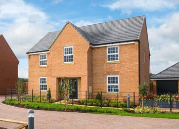 """Thumbnail 4 bedroom detached house for sale in """"Winstone"""" at Kilby Road, Fleckney, Leicester"""