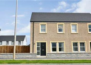 Thumbnail 3 bed semi-detached house for sale in Waterside Road, Peterhead, Aberdeenshire