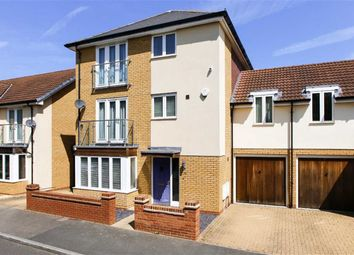 Thumbnail 4 bed link-detached house for sale in Hunsbury Chase, Broughton, Milton Keynes, Bucks